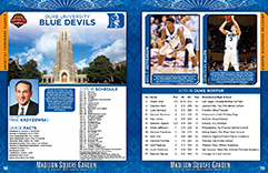 2015 Madison Square Garden College Basketball Tournaments Program