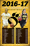 2016-17 Ohio Dominican Basketball Schedule Poster