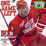 2015 Boston University Men's Ice Hockey Instagram Graphic