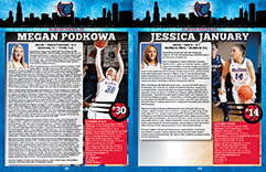 2015-16 DePaul University Women's Basketball Game Program
