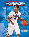 2014-15 DePaul Men's Basketball Game Program Cover