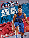 2016-17 DePaul University Women's Basketball Game Program Cover