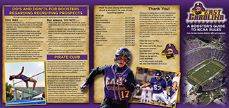 East Carolina University Athletics Compliance Brochure