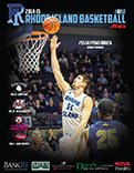 2014-15 URI Men's Basketball Game Program Cover