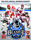 2016 Women's Beanpot Program Cover